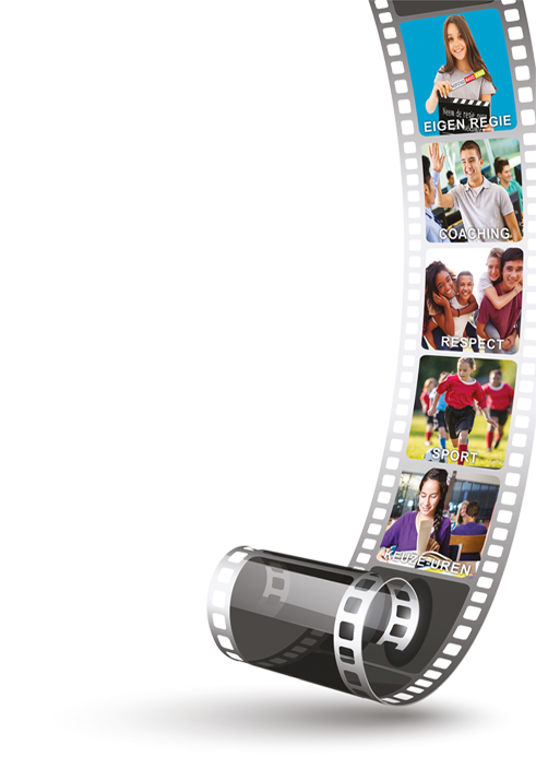 filmstrip illustratie